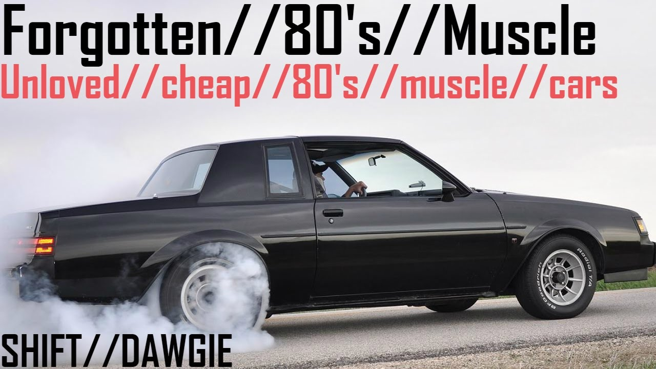 13 \'80s Muscle Cars Every Car Guy Should Know About // – Car Art